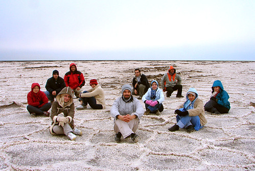 All of Us on the Salt Lake