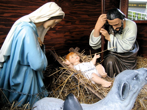 Nativity Scene by trumpetflickr.