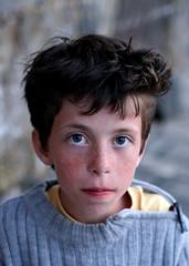 Little Boy Style (brun_o) Tags: blue boy portrait haircut beautiful face look grey eyes child style abigfave