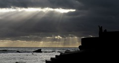 Freshwater Bay, Isle of Wight - Let there be light (s0ulsurfing) Tags: light sea sky cloud inspiration topf25 beautiful silhouette tag3 taggedout clouds wonderful point lights interestingness amazing interesting tag2 tag1 awesome 2006 divine glorious isleofwight stunning balance rays inspirational entitled sunrays awe incredible beams wight sunbeams celestial iow outstanding freshwaterbay instantfave s0ulsurfing bonzag p1f1 123f50 30faves30comments300views anawesomeshot superaplus aplusphoto coastuk