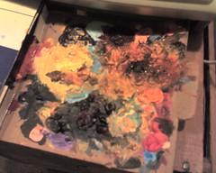 Kristin's paint palette
