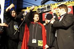 Abdrew Bergel final stage appearance (gerwalker) Tags: rockpaperscissors rps worldchampionships 2006worldrockpaperscissorschampionships
