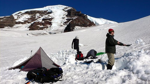 preparing high camp
