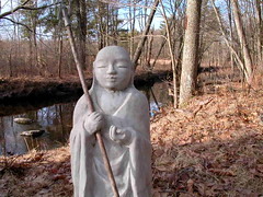 Jizo in Aryaloka grounds
