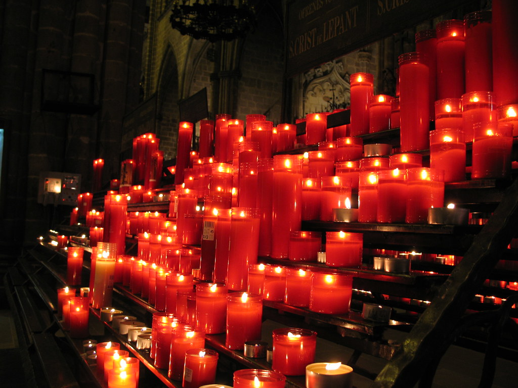 Candles, Catedral de Barcelona