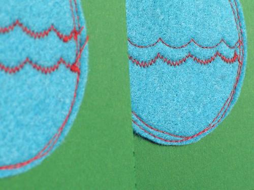 xmas card detail