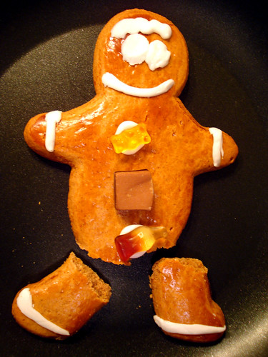 bob couldn't escape the gingerbread mafia