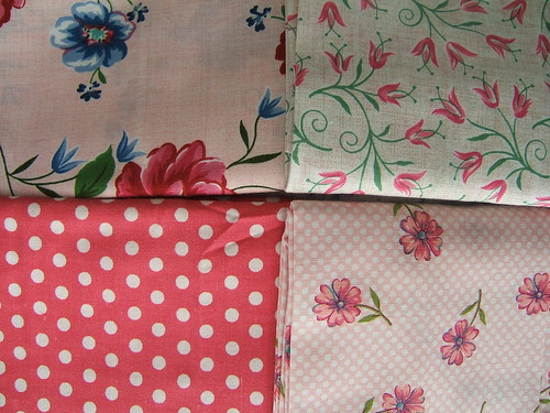 pink fabric therapy
