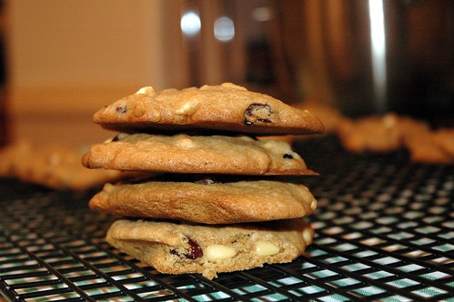 Cookies - White Chocolate, Cranberry & Pine nuts