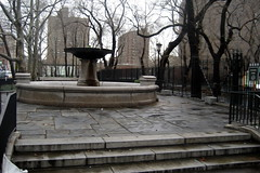 NYC - LES - Seward Park: Schiff Fountain by wallyg, on Flickr