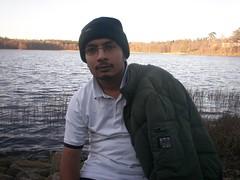 Malik at lake hastorpssjon (malik_fooo) Tags: lake bth hastorpssjon