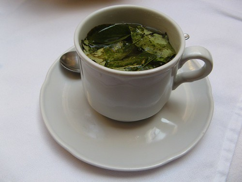coca tea, cusco