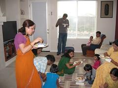 2006_10_07_Pinky_SreeMantham0068 (ashwin_to) Tags: kolam rangoli indianbabyshower sreemantham