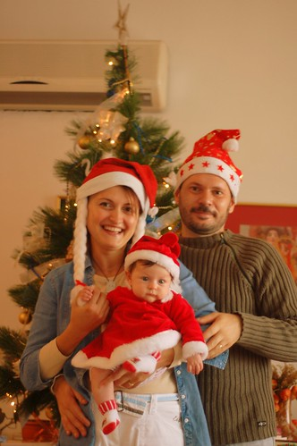 Santa family