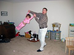 Hayley Flying with Dad