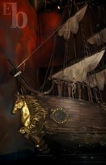 Mar y cielo: A bordo del barco corsario - by Drakhart