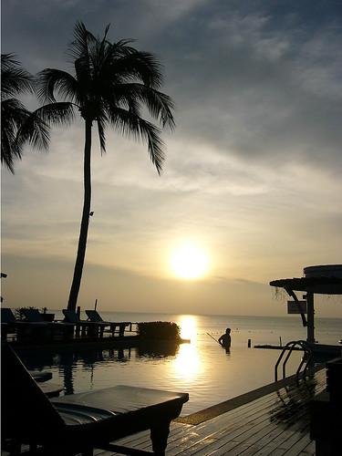 サムイ島-Morning @ chaweng beach