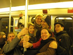 Silvester inside the S-Bahn