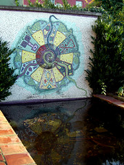 Reflecting Pool (gisele13) Tags: ireland dublin mosaic december2006 dublingarden