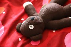 Teddie 1 (ansy) Tags: bear 50mm teddybear teddie kiss2 mrbean mrbeansteddy kiss3 kiss1 kiss4 kiss5