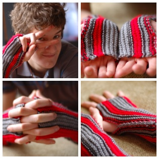 Jason's Fingerless Gloves
