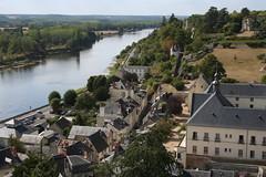 La Loire à Chinon (Vue du château) (@rno) Tags: art photo interesting centre loire valois chinon photograpy jeannedarc touraine interessare elinteresar interessieren ligerien 興味を起こさせること interessar