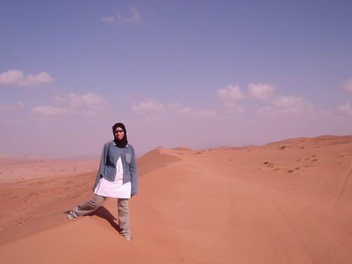 Im a desert sand