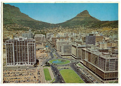 The Foreshore, 1969 (mallix) Tags: old holiday vintage southafrica postcard memories memory era change cbd 1970 1960s worldcup 1970s foreshore apartheid 2010 1960 soccerworldcup worldcup2010 1969capetown fifa2010