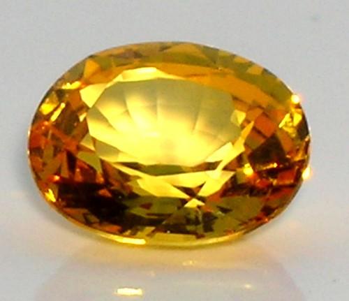 Created Yellow Sapphire