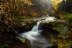 A small waterfall on Blea Hill Beck. (Tall Guy) Tags: uk longexposure england water 510fav canon wow river landscape photography photo waterfall stream photos beck britain yorkshire photograph waterfalls elite enjoy northyorkmoors waterblur tallguy specland abigfave waterfallpictures bleahillbeck waterfallphotography