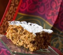 Ginger Applesauce Cake