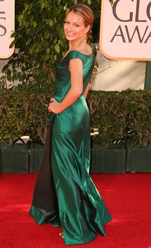 Becki Newton en los globos de oro