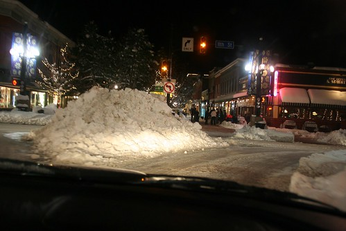 Snow Piled Up