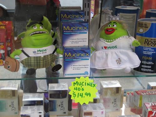 Mucinex Dolls