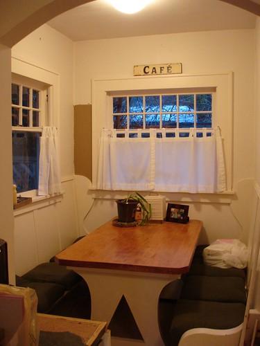 The breakfast nook