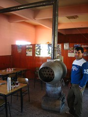 Heat blower in Erbaa, Turkey