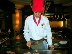 Cook in Benihana Pattaya