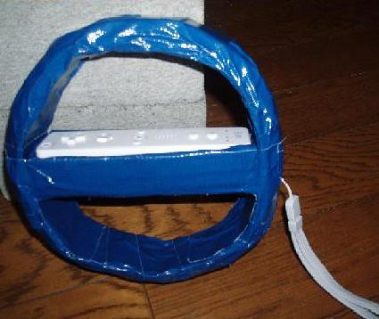 DIY Nintendo Wii Steering Wheel 1