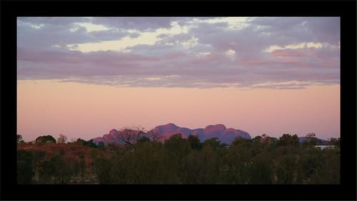 The Olgas - Sunrise