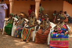 the dipo ceremony of the krobo girls in ghana (Retlaw Snellac) Tags: africa travel tourism canon photography ceremony ghana dipo visittheworld krobo waltercallens vipveryimportantphotos