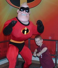 Sam and Mr. Incredible