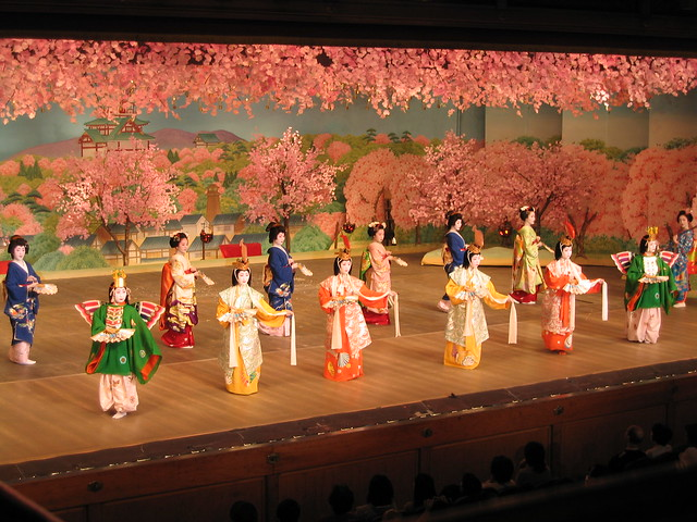 Cherry dance in Kyoto; 京都、 都をどり 5