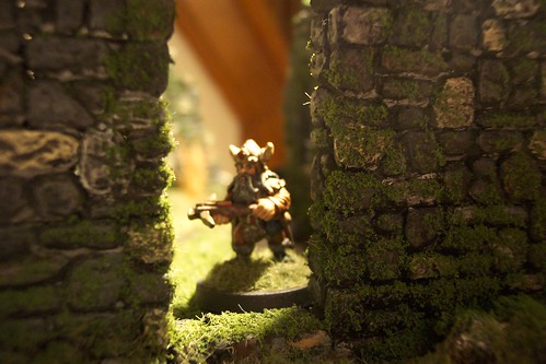 Dwarf in the Doorway