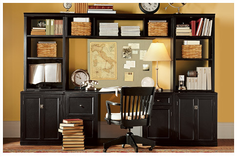 Home Office Yellow Dark