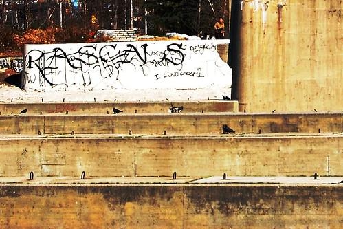 Rascals Get Behind Mural