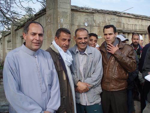 Strikers (Photo by Hossam el-Hamalawy)