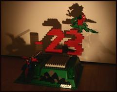 - 23 (Dr.Andre) Tags: three dragon lego andre 23 countdown tre twenty venti legovignettes andremts andreb drandre andrebeaverhausen