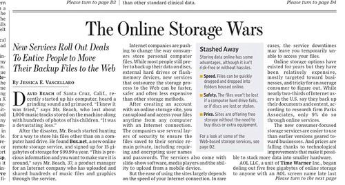 Online Storage Wars