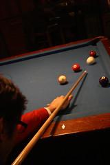 David sinks a ball