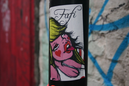 Fafi : Brick lane